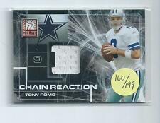 Tony Romo 2008 Donruss Elite Chain Reaction Game Used Jersey Card #cr10  160/199