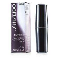 SHISEIDO STICK FOUNDATION B60 NATURAL DEEP BEIGE 0.35 OZ / 10 ML NEW IN BOX
