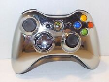 Official OEM Genuine Microsoft Xbox 360 Wireless Controller SILVER CHROME