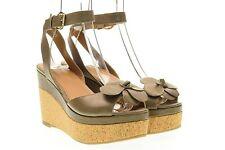 SAX sandali donna con zeppa rivestita in sughero cinturino alla caviglia 51625