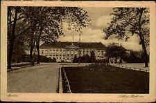 BERLIN alte Postkarte ungelaufen ~1920/30 Partie mit Park am Schloss Bellevue