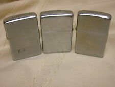 3 Zippo Lighters 1979, 1967, 1973 Engraved John KB
