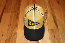 NEW COOPERSTOWN COLLECTION Black & Gold Pittsburgh Pirates Hat NWT $22 OS L@@K!!