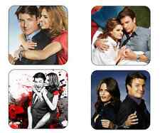 Castle TV Show Picture Mug Coasters Nathan Fillion as Richard Castle Kate Becket