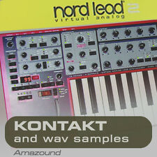 NORD LEAD 2 for KONTAKT 99 .nki INSTRUMENTS 2.5GB 24bit WAV SAMPLES PC MAC MPC