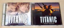 2 CD set titanic & Back to titanic Bande originale-Céline Dion James Horner OST