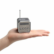 Portable Micro SD TF USB Mini Stereo Speaker Music Player FM Radio PC MP3 /4 7@
