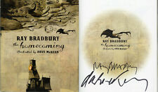 Ray Bradbury Dave McKean SIGNED AUTOGRAPHED The Homecoming HC 1st Ed 1st Print