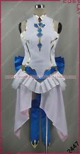 Tales of Zestiria the X TOZ Blue Halloween Girls Dress Cosplay Costume S002