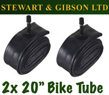 2 x IGNITE 20 INCH INNER BICYCLE TUBE TUBES 1.75 - 2.125 MOUNTAIN BIKE SCHRADER