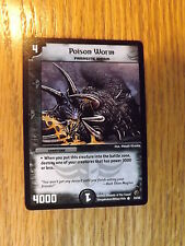 Duel Masters TCG - DM-02 Evo-Crushinators - Poison Worm 33/55