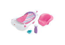 Fisher Price 4-in-1 Sling n Seat Infant Baby Toddler Wash Shower Bath Tub - NEW