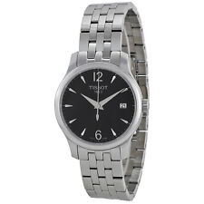 Tissot T-Trend Tradition Black Dial Stainless Steel Ladies Watch T0632101105700