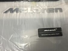 NEW GENUINE McLAREN BADGE EMBLEM MP4-12C MP4 12C 650S 570S 722S (NO WAIT)  (OeM)