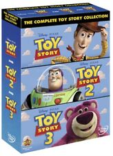 TOY STORY 1-3 Collection DISNEY Pixar DVD Set NEW Region 2