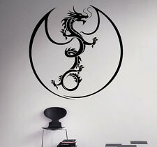 Dragon Wall Vinyl Decal Monster Vinyl Sticker Medieval Home Bedroom Interior 17