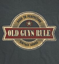 """OLD GUYS RULE """" VINTAGE STAR """" """" AGED TO PERFECTION """" """" VINTAGE GOODS """" S/S M"""