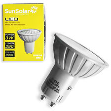 6 x 3w=35w LED GU10 Spot Light Energy Saving Bulb Cool White 4500k 290 Lumens UK