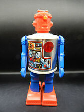 vintage Durham ROBOT 2500 battery operated toy 1976 cyclops red white & blue !!!