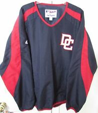 MLB Washington Nationals Mens V-Neck Lightweight Pullover Size Large Majestic