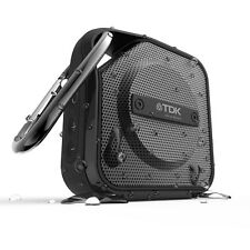 TDK Trek Micro A12 Bluetooth Wireless Mono Speaker Carabineer Portable NFC Black