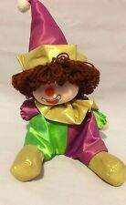 Adorable MusIc Box Clown Doll Moves Head To Music