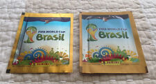 2 Types Panini 2014 Brazil World Cup INDUSTRIA ARGENTINA Version Sticker Packet