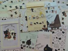 Cat San-X Kutusita Nyanko Letter Set paper envelope kawaii music stationery