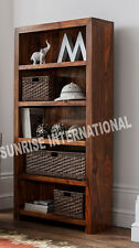 Mandira range - Wood Wooden Book Shelves / Bookcase / Display shelf Cabinet Rack