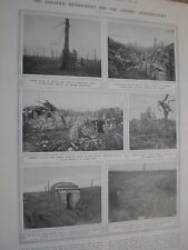 Photo article Germany retreats from Ancre Gommecourt  1917 WW1