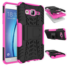 For Samsung Galaxy On5 Shockproof Dual Layer Hybrid Kickstand Case Cover Skin