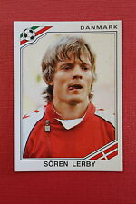 Panini MEXICO 86 N. 354 DANMARK LERBY  With back GOOD CONDITION!!