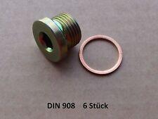 Verschlussschrauben Innensechskant  M16 x 1,5 DIN 908