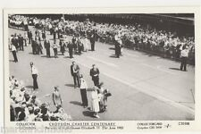 Croydon Charter Centenery Visit of HM The Queen 1983 Postcard, B433