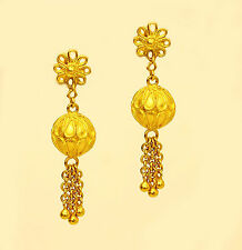 22k 22kt solid gold earring from thailand #33