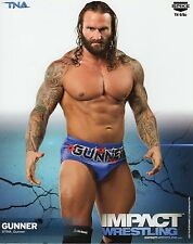 "GUNNER TNA IMPACT WRESTLING PROMO PHOTO 8x10"" wwe P-991"