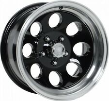 "NEW 15 X 8"" Ion 171 Black Alloy Wheel For JEEP WRANGLER TJ YJ 5 On 4.5"