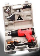 Heissluftpistole Set im Koffer 2000 Watt 2 stufig 350/600°C  Heißluftgebläse