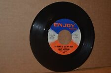 JIMMY ARMSTRONG: I'M GOING TO LOCK MY HEART & COUNT THE TEARS; ENJOY VG++ 45 RPM