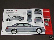 1996-1998 ACURA RL 3.5 Car SPEC SHEET BROCHURE PHOTO BOOKLET
