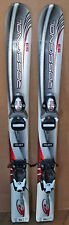93 cm Rossignol Edge junior skis bindings + Nordica ski boots, kids size 11