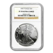1997-P Proof Silver American Eagle PF-70 NGC