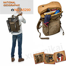 National Geographic NG A5290 DSLR Camera Bag Medium Backpack Africa (Brown)
