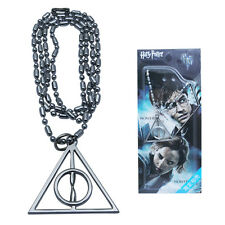 HARRY POTTER Deathly Hallows Logo Metal Necklace