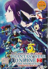 PHANTASY STAR ONLINE 2 THE ANIMATION VOL.1-12 JAPANESE ANIME DVD + FREE SHIPPING
