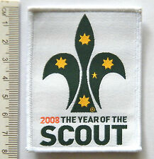 2008 YEAR OF THE SCOUT Badge, Scouts Australia Official Uniform Badge