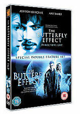 The Butterfly Effect 1 And 2 2 Disc DVD Set UK R2 PAL Ashton Kutcher Amy Smart