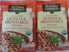 Seeds of Change Organic Quinoa and Brown Rice , 8.5 Ounce, 2  POUCHES