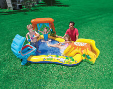 Intex Dinosaur Play Center Inflatable Kids Set & Swimming Pool | 57444EP