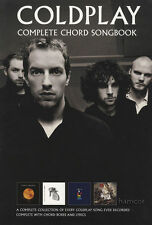 Coldplay complete chord répertoire guitar sheet music book greatest hits best of